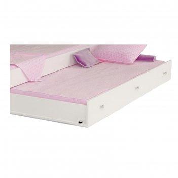 Выкатной ящик 180 x 90 см, под кровать классику 190 x 90 см, цвет белый