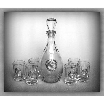 Набор для водки 120 ссср  арт. нгс120ср-16