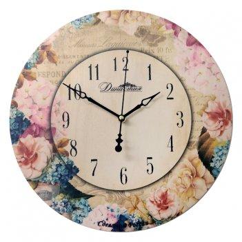 "Настенные часы  02-025 ""незабудки-3"""