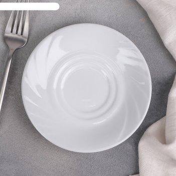 Блюдце 14 см белье ф.426 голубка