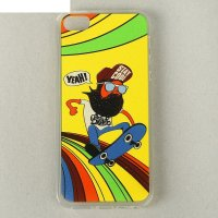 Чехол для задней панели caseguru iphone 5,5s, рисунок молодежные скейтборд