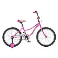 Велосипед 20 novatrack neptune, цвет розовый