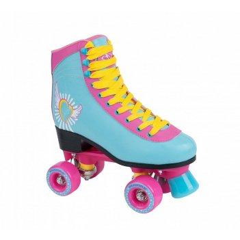 Роликовые коньки hudora disco skate wonders 37-38 (13162)
