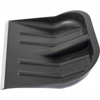Лопата для уборки снега пластиковая, 465х415 мм, без черенка, сибртех