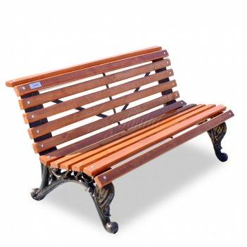 Скамейка чугунная парковая «отдых» 1,5 м