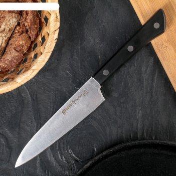 Нож кухонный samura harakiri, универсальный, лезвие 12 см, сталь aus-8