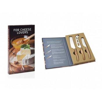 Andrea house подарочный набор из 3 ножей для сыра