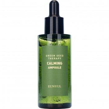 Ампульная сыворотка для лица eunyul, успокаивающая, с экстрактами зелёных