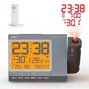 Проекционные часы c радиодатчиком meteo projection q765