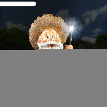 Садовый фонарь лесовик с фонарем 30х36х58см