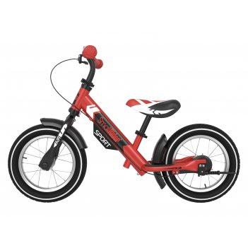 Беговел с 2 тормозами small rider roadster sport 4 air (красный)
