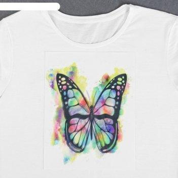 Пришивная аппликация «бабочка», 3d, 27 x 20 см