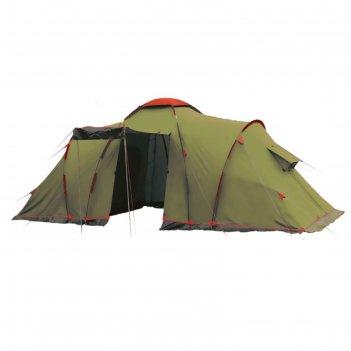 Tramp lite палатка castle 6 зеленый