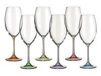 Набор бокалов для вина из 6 шт. барбара декорейшн...