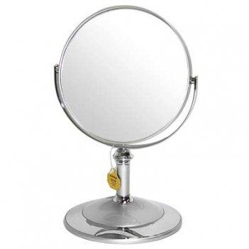Зеркало* b68021 s3/c silver настольное 2-стор. 5-кр.ув.15 с