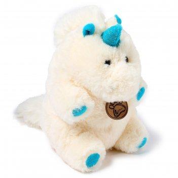 Мягкая игрушка единорог, 22 см, цвет молочный  at365286