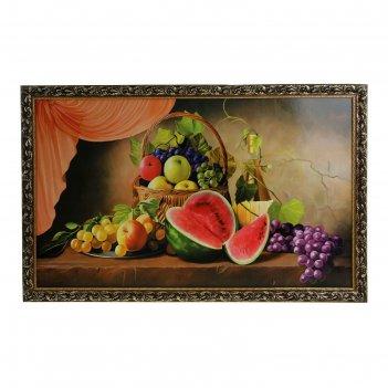Картина натюрморт с арбузом