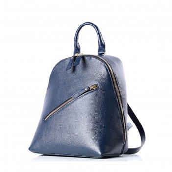 Рюкзак женский, натур.кожа, мод.52518 9с4119к45, цвет синий