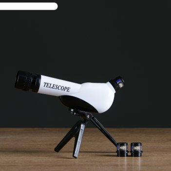 Телескоп настольный сувенирный оптика сменные линзы 20х-30х-40х