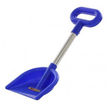 39897 лопата wader №20, алюминиевый черенок с ручкой, синий