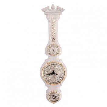 Настенный барометр гигрометр термометр часы