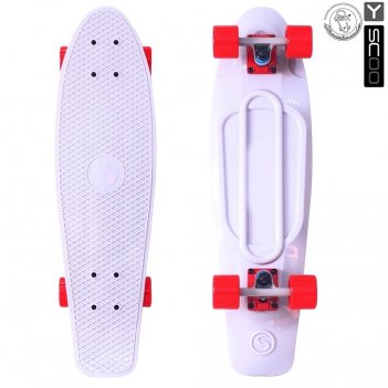 402-w скейтборд y-scoo big fishskateboard 27″ винил 68,6х19 с сумкой