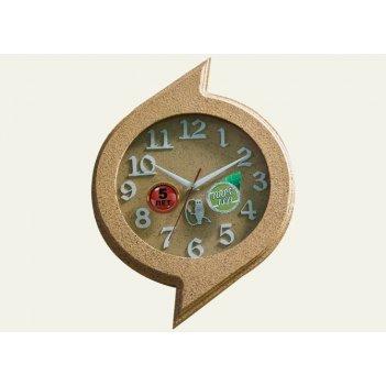 Часы настенные d40-252-камень