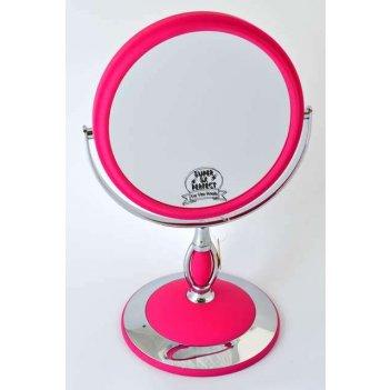 Зеркало b6 806 stpk/c настольное 2-стор. 5-кр.ув.15 см. (12в