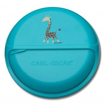 Ланч-бокс для перекусов snackdisc™ spider giraffe бирюзовый