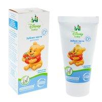 Детская зубная паста disney baby, с ароматом земляники 60 мл