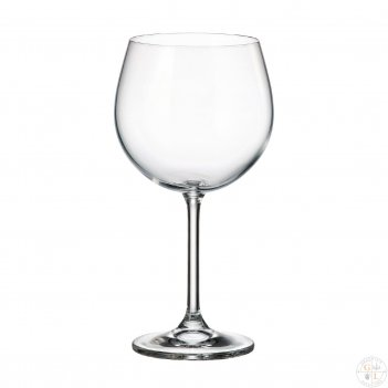 Набор бокалов для вина арлекино crystalite bohemia colibri/gastro 570 мл(6