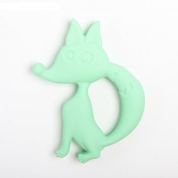 Прорезыватель силиконовый «лисичка», цвет микс
