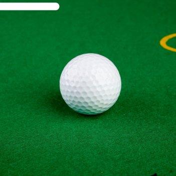 Мяч для гольфа, 2-х слойный, 420 выемок, d=4,3см, 45г