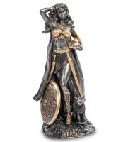 Ws- 16 статуэтка фрейя - богиня плодородия, любви и красоты