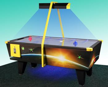 Аэрохоккей с жетоноприемником neon