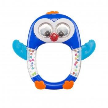 Музыкальная погремушка happy baby penguin lo-lo, 3+ мес