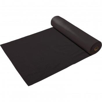 Коврик-дорожка пвх  игольчатый 2,4 мм 0,90*10м, против скольжения, черный