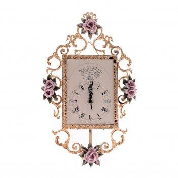 Часы rettangolare medio rosaperla