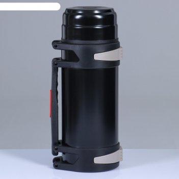 Термос колумб 4 л, сохраняет тепло 24 ч 15х39.8, чёрный