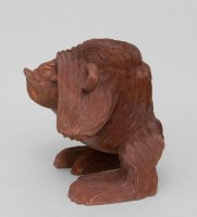15-081 статуэтка обезьяна - не вижу 20 см суар