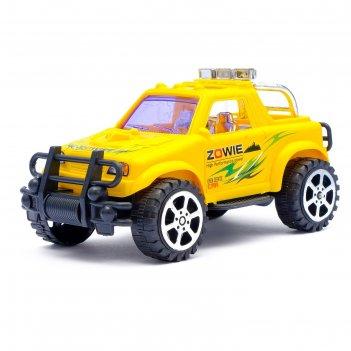 Машина инерционная джип триал, цвета микс