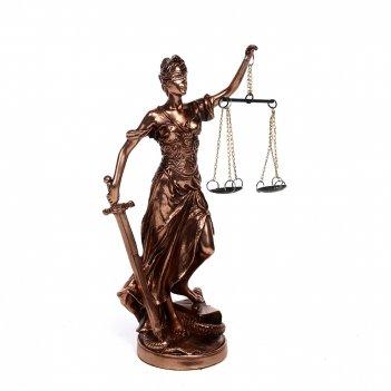 Статуэтка греческая богиня правосудия - фемида 21см