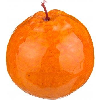 Изделие декоративное апельсин высота=11 см без упаковки