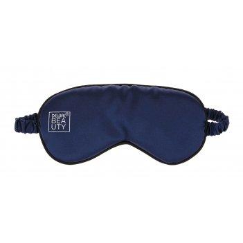 Маска для сна dewal beauty, синяя, 20х9,5 см