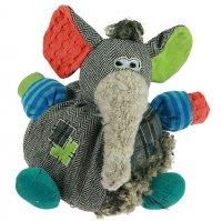 Интерьерная фигурка - мягкая игрушка слон 23см