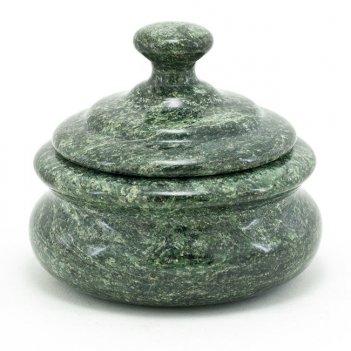 Сахарница камень змеевик