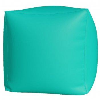 Пуфик куб макси, ткань нейлон, цвет бирюзовый