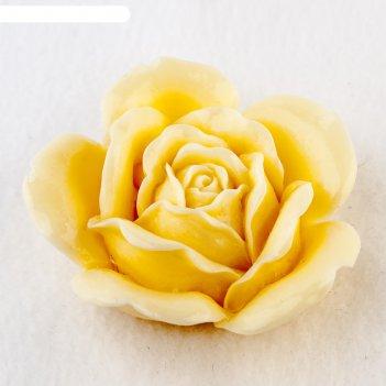 Силиконовая форма для мыла роза свадебная