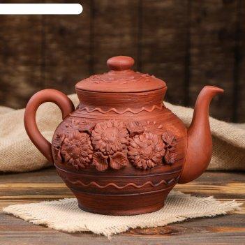 Чайник большой полулепка 2л
