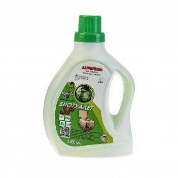 Жидкость для биотуалета нижнего бака, 1 л, sannifresh, концентрат
